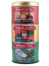 Republic of Tea Holiday Trio Stackable Tin