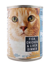 Cat Food - Fish, Chicken & Liver Dinner