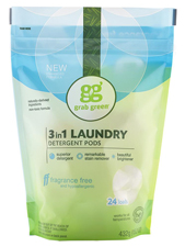 3 in 1 Laundry Detergent Pods - Fragrance Free