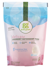 Delicate Laundry Detergent Pods - Fragrance Free