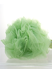 Hydro Body Sponge with Handle Strap - Light Green