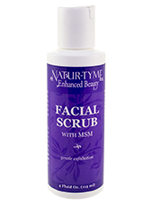 Facial Scrub with MSM