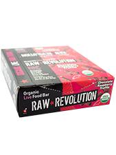 Chocolate Raspberry Truffle  Organic Live Food Bar
