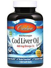 Cod Liver Oil Gems