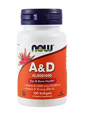 A & D 10,000/400 IU