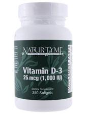 Natur-Tyme Vitamin D-3 1000 IU