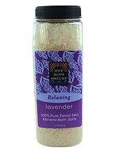 Lavender Tangerine Dead Sea Mineral Bath Salts