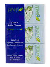 Facial Tissue 3-Pack