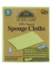 100% Natural Sponge Cloths