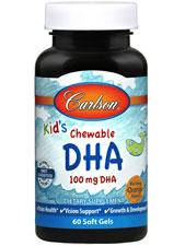 Chewable DHA Bursting Orange Flavor