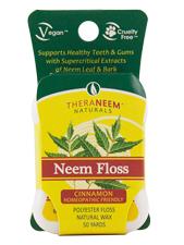 TheraNeem Neem Floss Cinnamon