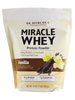 Miracle Whey Protein Powder Vanilla Flavor