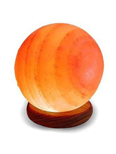 Globe Shaped Salt Lamp 4-6 lbs