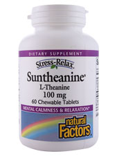Suntheanine L-Theanine 100 mg