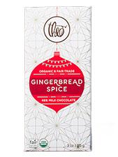 Gingerbread Spice Milk Chocolate Bar