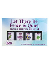 Let There Be Peace & Quiet Relaxing Essential Oils