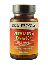 Vitamins D3 and K2