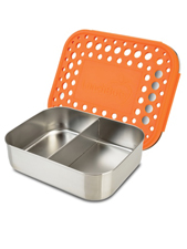 Duo Dots 100% Stainless Steel Lunch Container