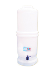 UltraGrav Emergency Water filter with Ceramic and Metalgon Filter