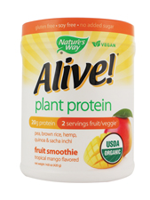 Alive! Plant Protein Fruit Smoothie - Tropical Mango