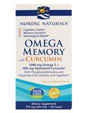 Omega Memory w/ Curcumin