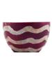 Purple Wave Tea Light Holder