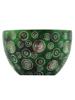Green Dots Tea Light Holder