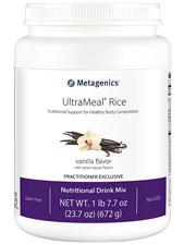 UltraMeal Rice Natural Vanilla Flavor