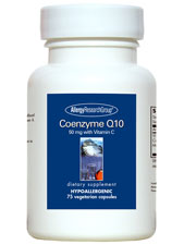 Coenzyme Q10 50 mg  with Vitamin C