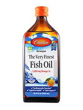 The Very Finest Fish Oil - Orange
