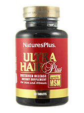 Ultra Hair Plus With MSM