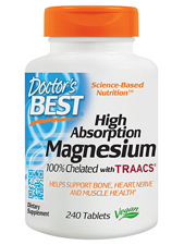 High Absorption 100% Chelated Magnesium 100 mg