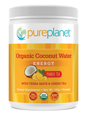 Organic Coconut Water Energy Mango Tea