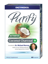 Enzymedica Purify Activated Coconut Charcoal Plus