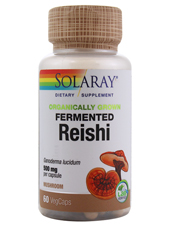 Organically Grown Fermented Reishi 500 mg