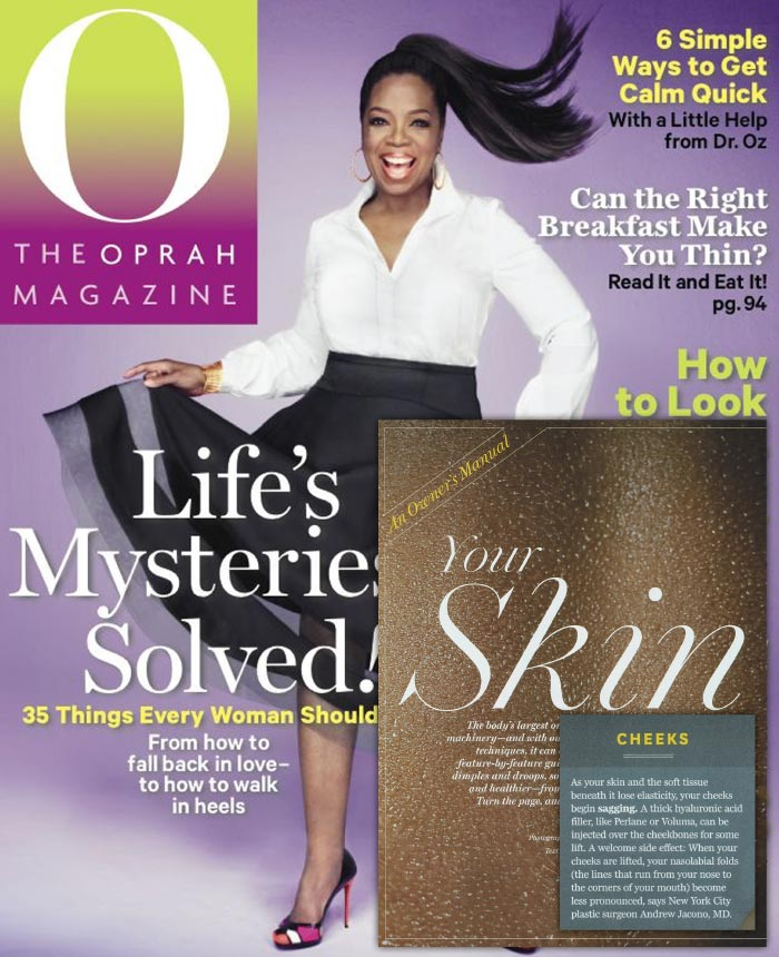 The Oprah Magazine - Cheeks