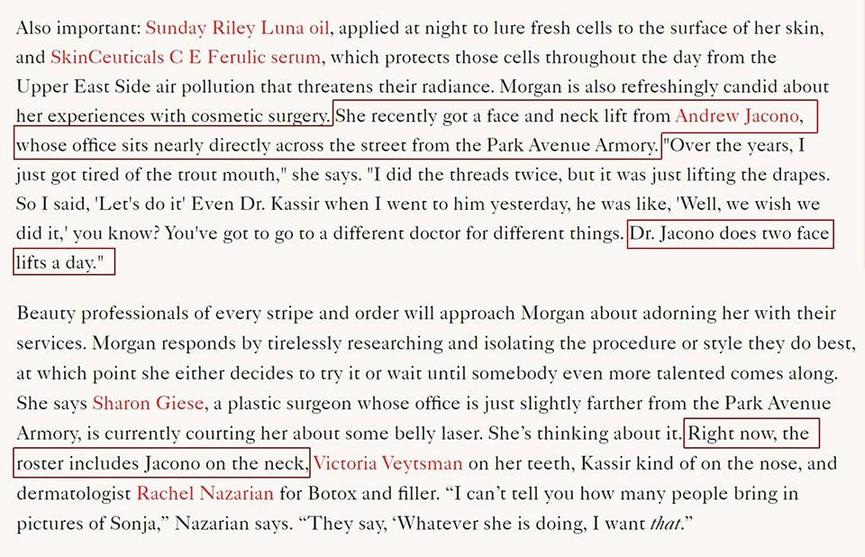 sonja morgan discusses her facelift with dr andrew jacono