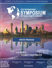 Dr. Jacono attends the 12th International Symposium of Facial Plastic Surgery October 2018