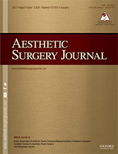 Dr. Jacono published in the Aesthetic Surgery Journal February 2019