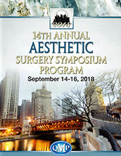 Dr. Jacono attends the 14th Annual Aesthetic Surgery Symposium in Chicago, Illinois, September 2018