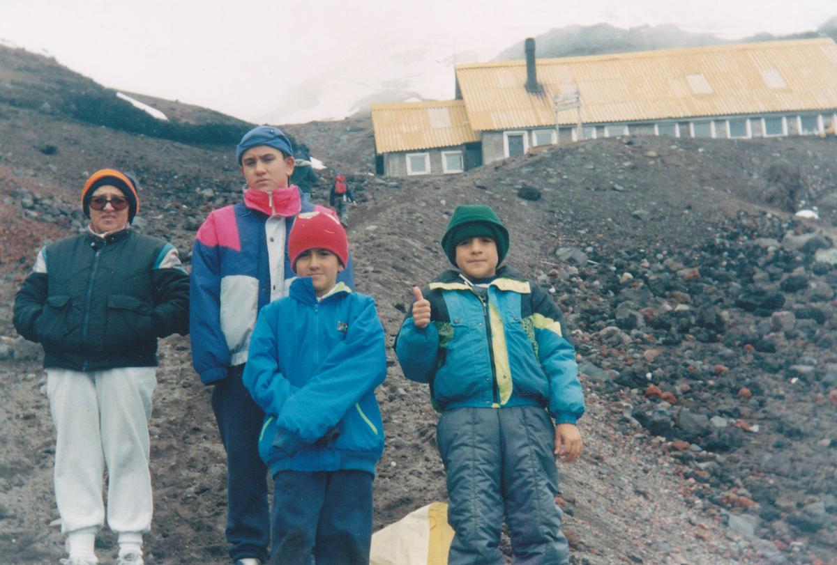 Mosquera's Family in Ecuador