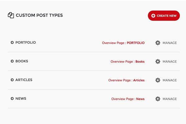 Portfolio & Custom Post Types