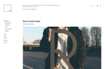 Portfolio - Single Column