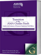 Transition to the AMA Guides Sixth