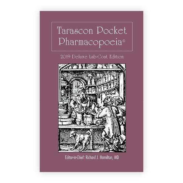 Tarascon Pocket Pharmacopoeia 2019 Deluxe Lab-Coat Edition