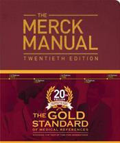 The Merck Manual, 20th Edition