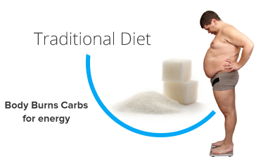ketosis diet body burns carbs instead of fat