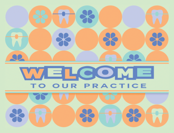Flower Power Welcome Greeting Card