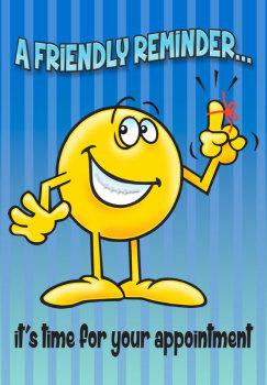 Friendly Reminder String Retainer Postcard