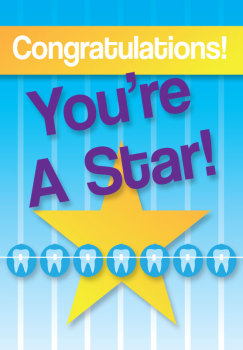 You're A Star Deband Greeting Card